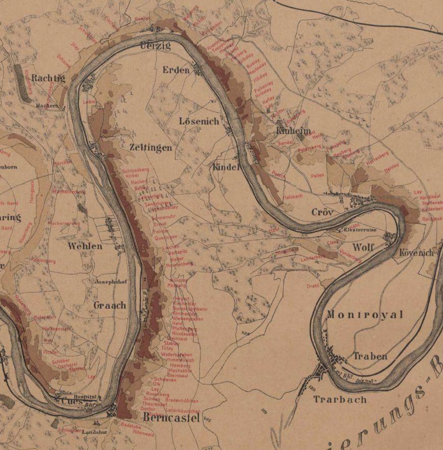 Historische Karte